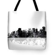 San Francisco California Skyline Tote Bag