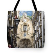 Basilica Of Saint Mary Of The Chorus - San Sebastian - Spain Tote Bag