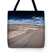 Sand Dunes Of Colorado Tote Bag