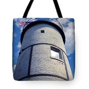Sandy Neck Lighthouse Tote Bag