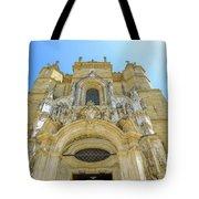 Santa Cruz Monastery Facade Tote Bag