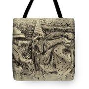 Santa Fe Cowboy Tote Bag