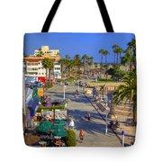 Santa Monica Beach Tote Bag