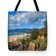 Santa Monica Ca Steps Palisades Park Bluffs  Tote Bag