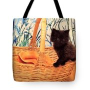 Sassy Cat Tote Bag