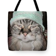 Sassy Sassy Cat Tote Bag