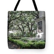 Historic Wright Square - Downtown Savannah Georgia Tote Bag