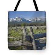 Sawtooth Range Tote Bag