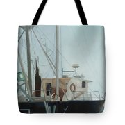 Scallop Boat Tote Bag