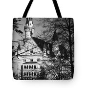 Schloss Neuschwanstein Tote Bag