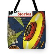 Sci-fi Magazine Cover, 1929 Tote Bag