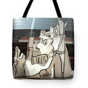 Sculpture In Chicago Tote Bag