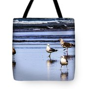 Sea Birds Tote Bag