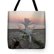Summer Sea Lilies Tote Bag
