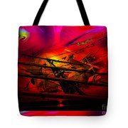 Sea Romantic - Sailing Ship 3 Tote Bag