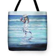 Sea Walk Tote Bag