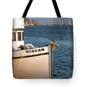 Seagull Morro Bay California Tote Bag