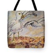 Seagull Salute Tote Bag