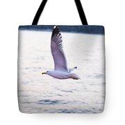 Seagulls Flying Tote Bag