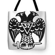 Seal: Freemasonry Tote Bag