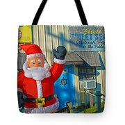 Seashell Seats For Christmas Tote Bag