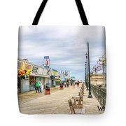 Seaside Boardwalk Tote Bag