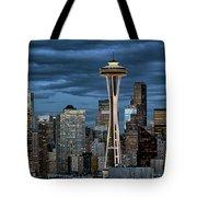 Seattle Night Tote Bag