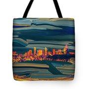 Seattle Swirl Tote Bag