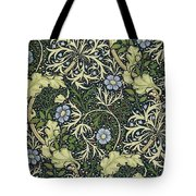 Seaweed Pattern Tote Bag