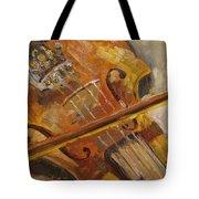 Secondhand Violin Tote Bag