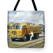 Seddon At Poole Docks. Tote Bag