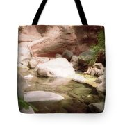 Sedona River Rock Tote Bag
