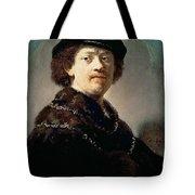 Self-portrait Rembrandt Harmenszoon Van Rijn Tote Bag
