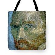 Self-portrait Tote Bag by Vincent Van Gogh