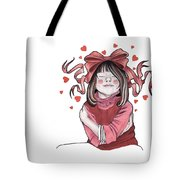 Selfie Tote Bag by Deadcharming Art