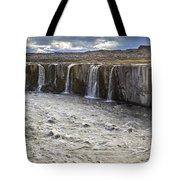 Selfoss Waterfall Tote Bag