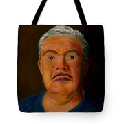 Selfportrait Tote Bag