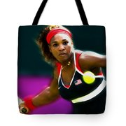Serena Williams Eye On The Prize Tote Bag