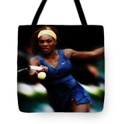 Serena Williams Making It Look Easy Tote Bag