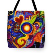 Magical Eclipse Tote Bag
