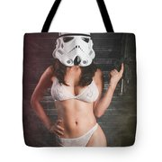 Sexy Trooper Tote Bag
