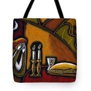 Shabbat Shalom Tote Bag