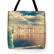 Shabby Chic Versailles Palace Gardens Tote Bag
