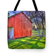 Shaker Carriage Barn 2 Tote Bag