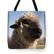 Sheep Face Tote Bag