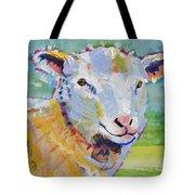 Sheep Head Tote Bag