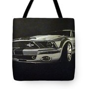 Shelby Mustang Front  Tote Bag