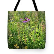 Shelley Kelly Prairie Wildflowers Tote Bag