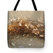 Shells In Seaweed Tote Bag