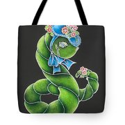 She's Just A Worm II  Tote Bag